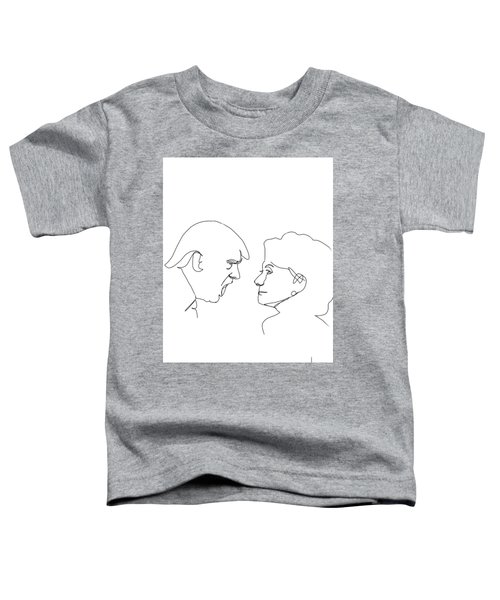 2016 Election Toddler T-Shirt by Harold Belarmino
