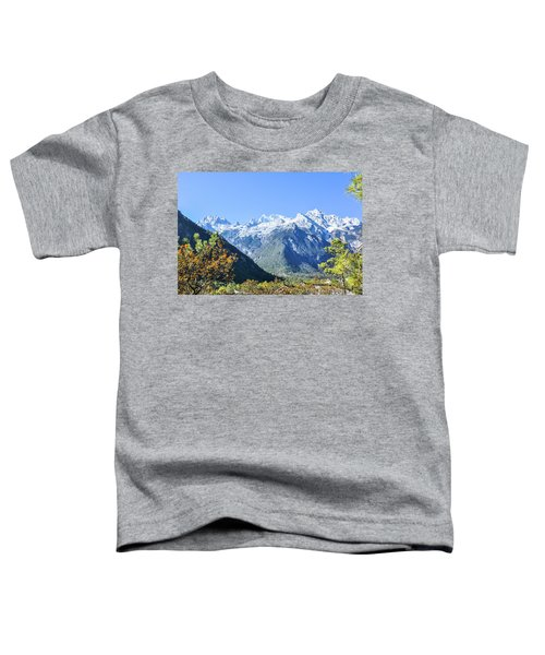 The Plateau Scenery Toddler T-Shirt