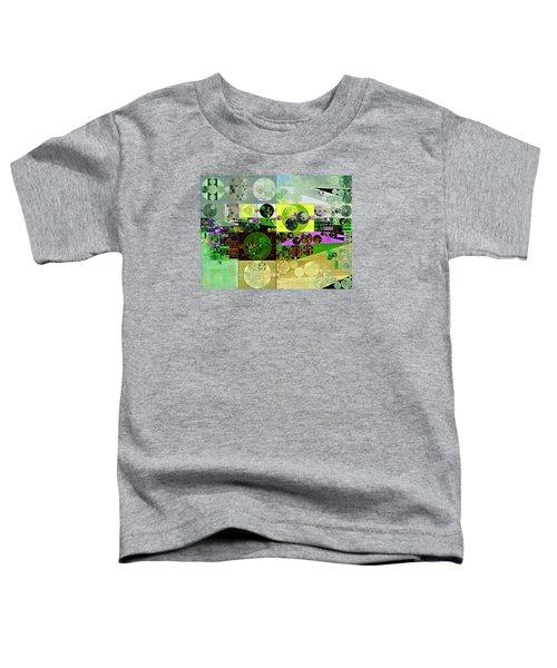 Abstract Painting - Black Bean Toddler T-Shirt