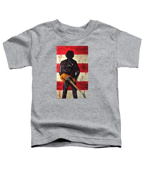 Bruce Springsteen Toddler T-Shirt by Francesca Agostini