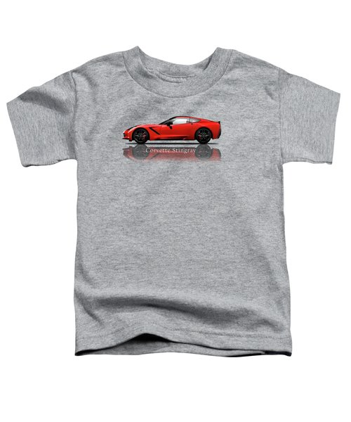 Chevrolet Corvette Stingray Toddler T-Shirt