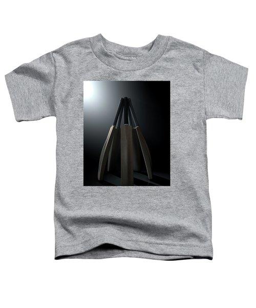 Cricket Back Circle Dramatic Toddler T-Shirt by Allan Swart