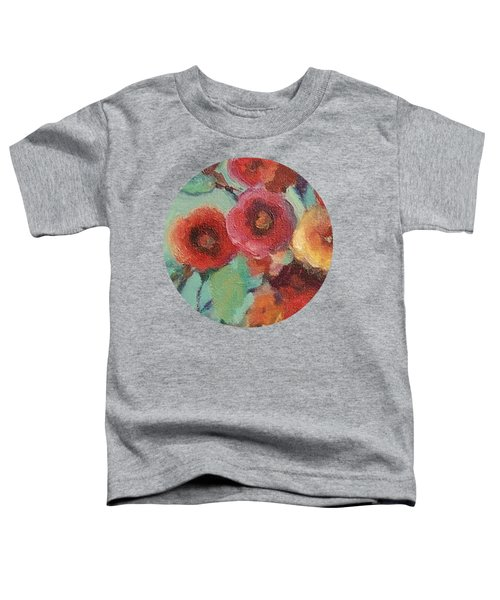 Floral Painting Toddler T-Shirt