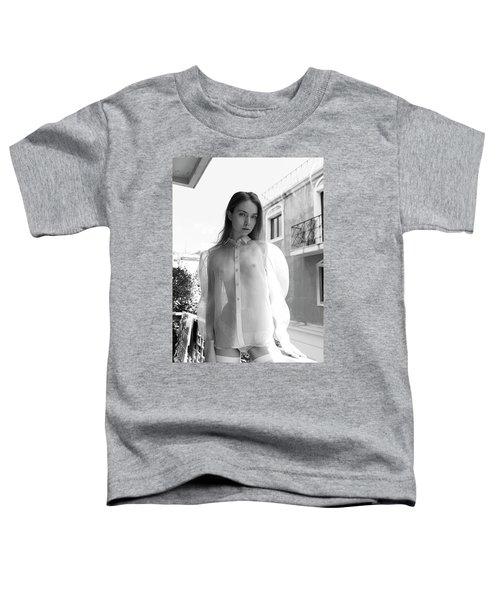 Girl On Balcony Toddler T-Shirt