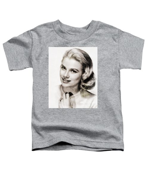Grace Kelly, Vintage Hollywood Actress Toddler T-Shirt