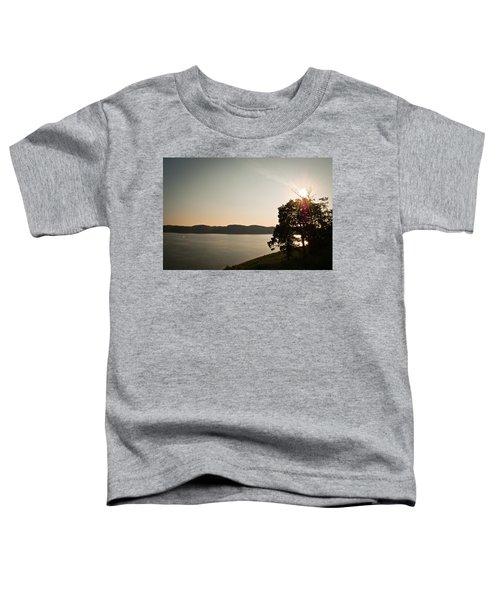 Lake Cumberland Sunset Toddler T-Shirt
