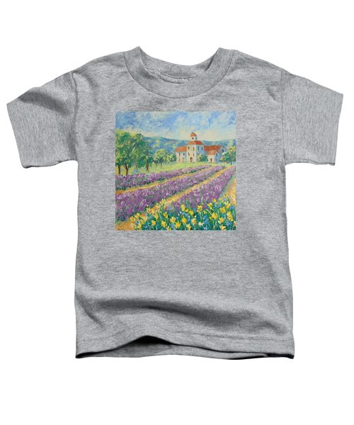 Lavender Field Provence Toddler T-Shirt