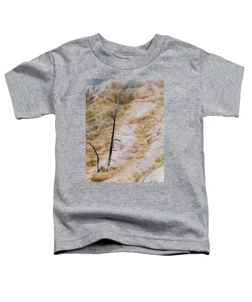 Mammoth Hot Spring Terraces Toddler T-Shirt