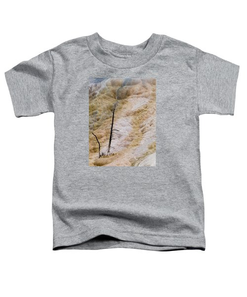 Mammoth Hot Spring Terraces Toddler T-Shirt