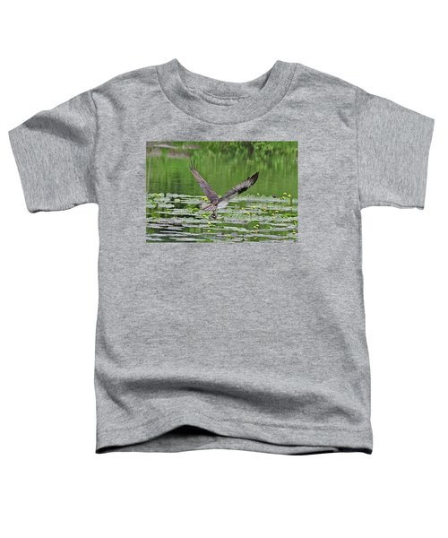 Osprey Fishing Toddler T-Shirt