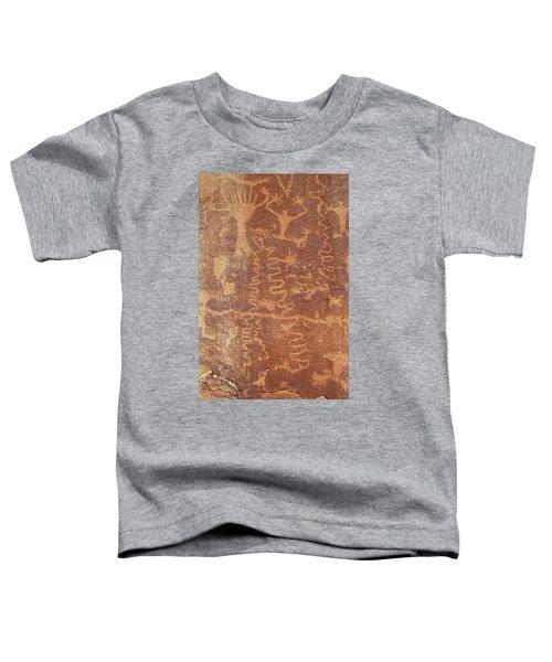 Petroglyph - Fremont Indian Toddler T-Shirt