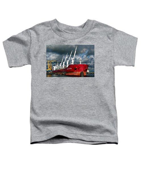 Port Of Amsterdam Toddler T-Shirt