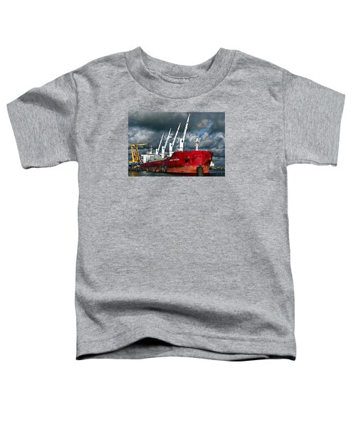 Port Of Amsterdam Toddler T-Shirt