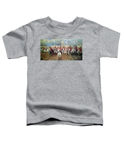 Toddler T-Shirt featuring the painting Scotland Forever by Celestial Images