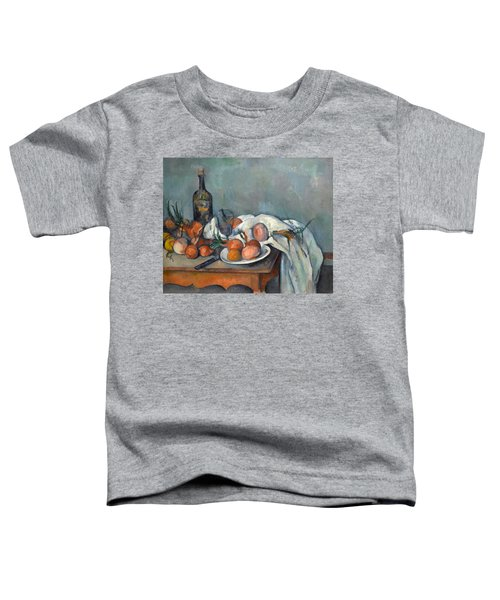Still Life With Onions  Toddler T-Shirt