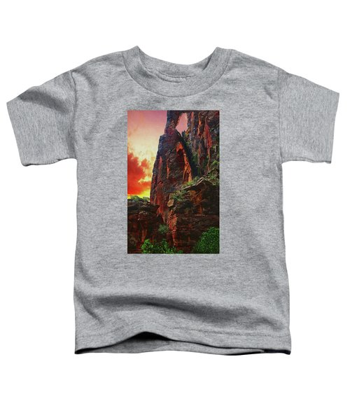 Sunrise In Canyonlands Toddler T-Shirt