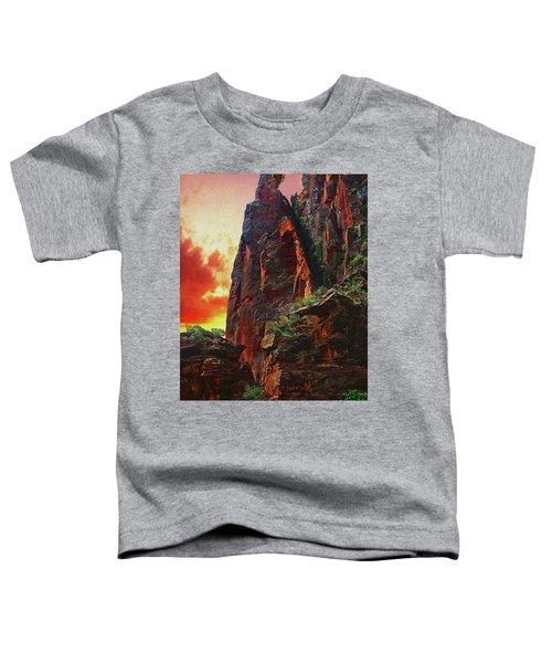 Sunrise In Canyonlands Toddler T-Shirt