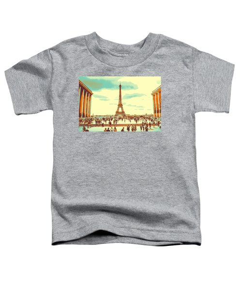 The Eiffel Tower Toddler T-Shirt