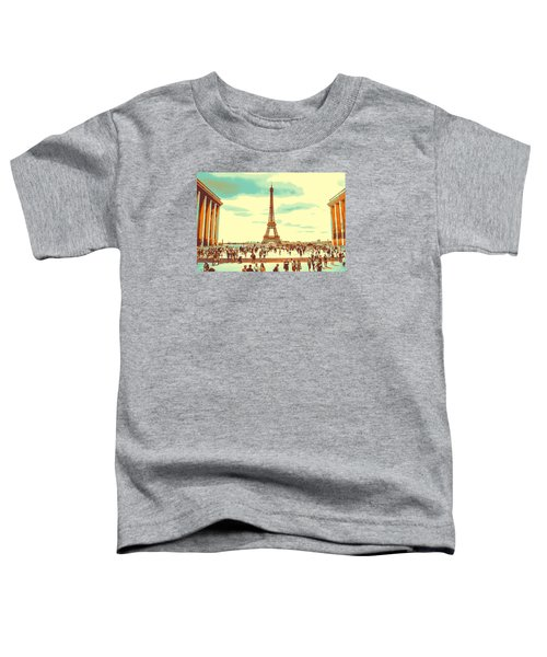 The Eiffel Tower Toddler T-Shirt
