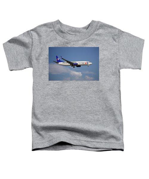 Travel Service Boeing 737-8cx Toddler T-Shirt