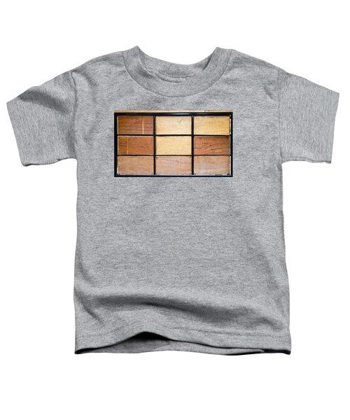 Wooden Crates Toddler T-Shirt