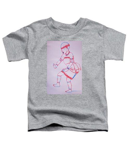Adowa Dance Ghana Toddler T-Shirt