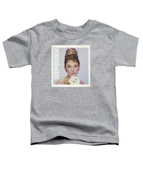 Audrey Hepburn Toddler T-Shirt by John Springfield