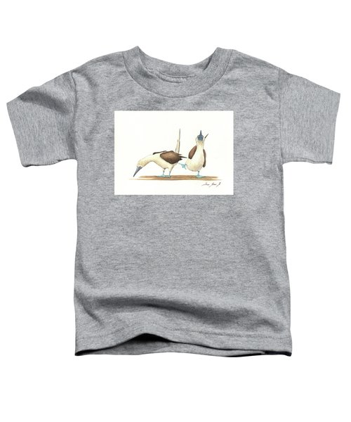 Blue Footed Boobies Toddler T-Shirt
