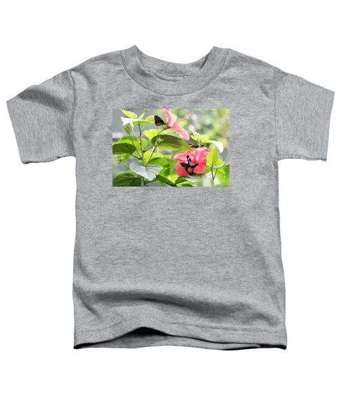 Cream-spotted Clearwing Butterfly Toddler T-Shirt