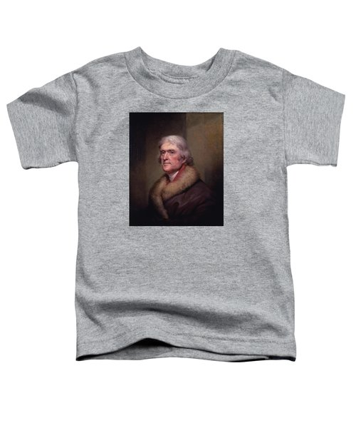 President Thomas Jefferson Toddler T-Shirt by War Is Hell Store