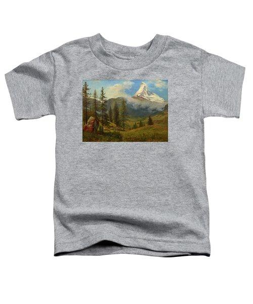 The Matterhorn Toddler T-Shirt
