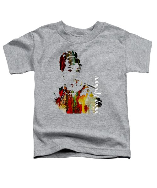 Audrey Hepburn Collection Toddler T-Shirt by Marvin Blaine