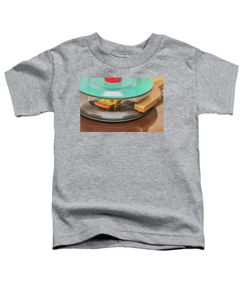 45 Rpm Record In Play Mode Toddler T-Shirt
