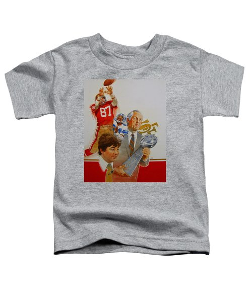 49rs Media Guide Cover 1982 Toddler T-Shirt