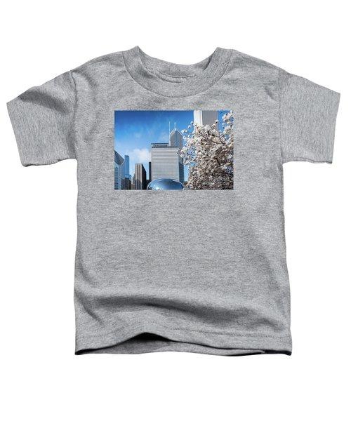 Chicago Bean Millenium Park Toddler T-Shirt