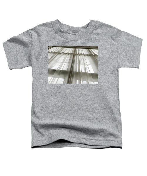 Linen Curtain Toddler T-Shirt