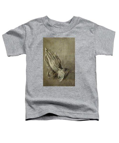 Praying Hands Toddler T-Shirt
