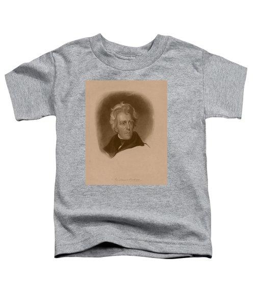 President Andrew Jackson Toddler T-Shirt
