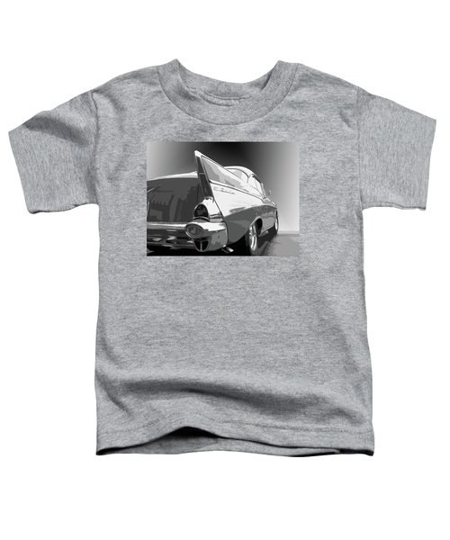 57 Chevy Horizontal Toddler T-Shirt