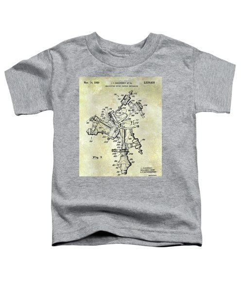 1950 Helicopter Patent Toddler T-Shirt