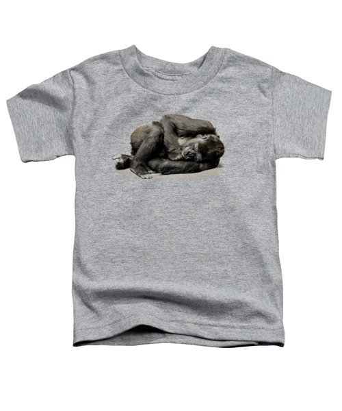 Gorilla Toddler T-Shirt by FL collection