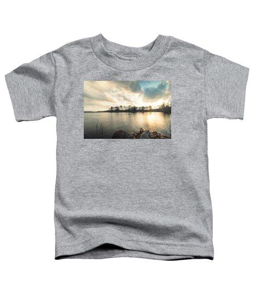 Lake Sunset Toddler T-Shirt