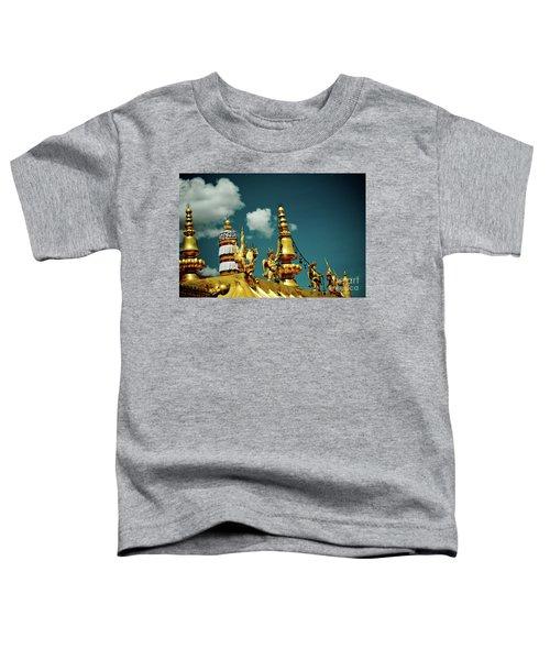 Lhasa Jokhang Temple Fragment Tibet Artmif.lv Toddler T-Shirt