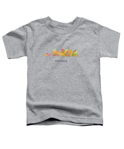 Phoenix Arizona Skyline Toddler T-Shirt