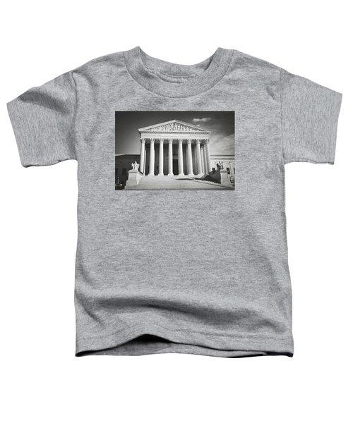 Supreme Court Building Toddler T-Shirt