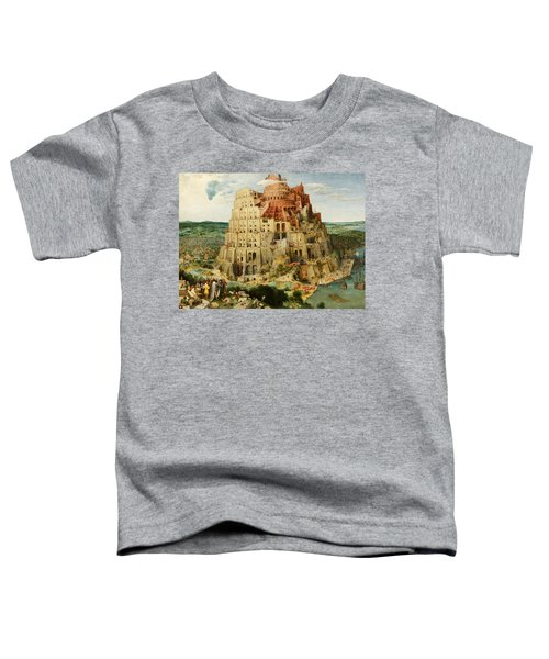 The Tower Of Babel  Toddler T-Shirt