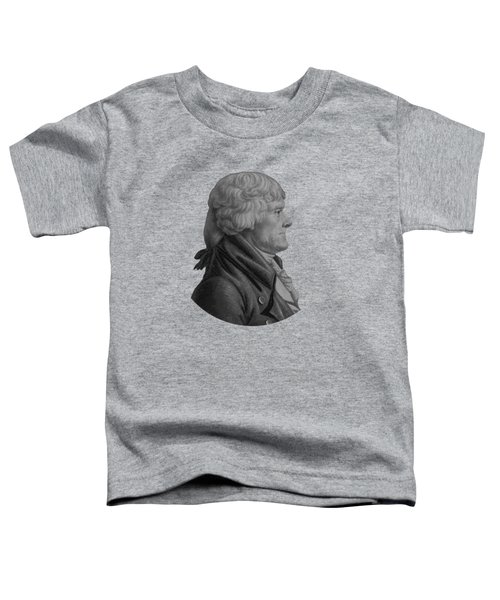 Thomas Jefferson Profile Toddler T-Shirt