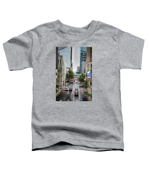 Charlotte North Carolina Views Around  Downtown Toddler T-Shirt