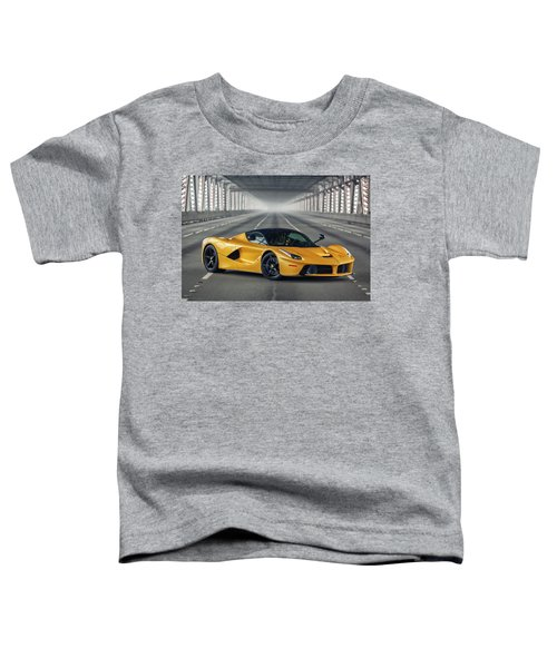 #ferrari #laferrari Toddler T-Shirt