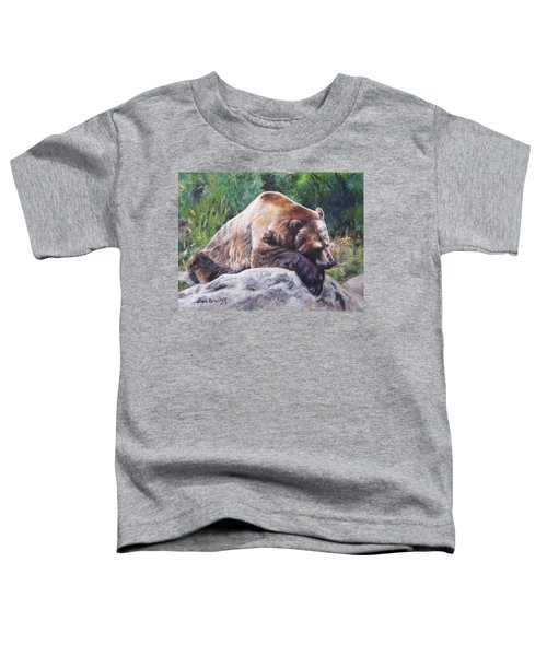 A Bear Of A Prayer Toddler T-Shirt